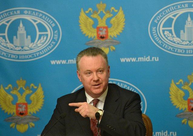 Rusya Dışişleri Bakanlığı Sözcüsü Aleksandır Lukaşeviç