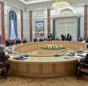 Rusya devlet başkanı Vladimir Putın'in Beyaz Rusya ziyareti
