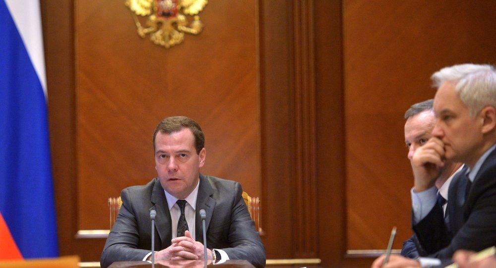 Rusya Başbakanı Dmitry Medvedev