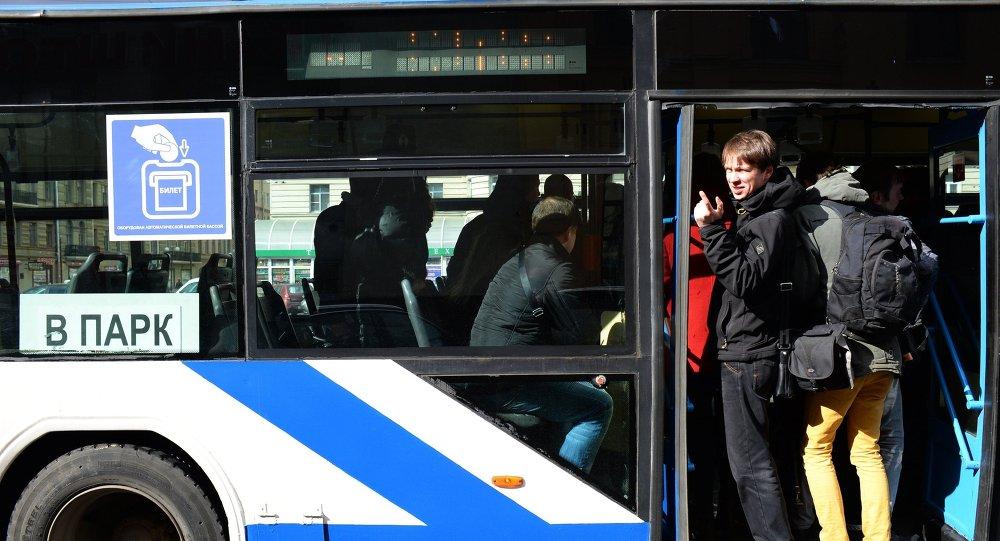 Moskova'daki troleybüs