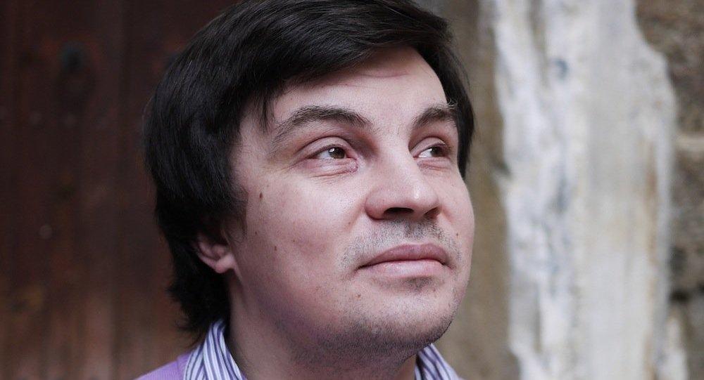 Rudomino Yabancı Edebiyat Kütüphanesi'nin Rusya-Türkiye Bilim Merkezi'nin Müdürü İlşat Sayetov