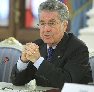 Avusturya Cumhurbaşkanı Heinz Fischer