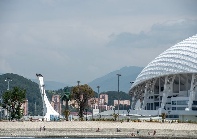 Soçi olimpiyat tesisleri. Soçi, şehir
