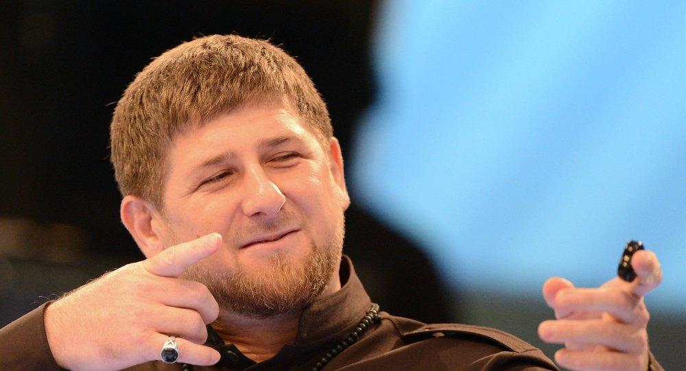 Ramzan Kadırov basın toplantısında
