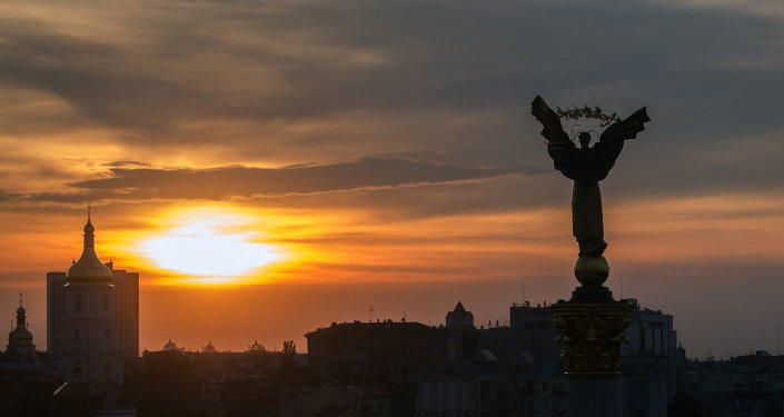 Kiev'deki Bağımsızlık Meydanı