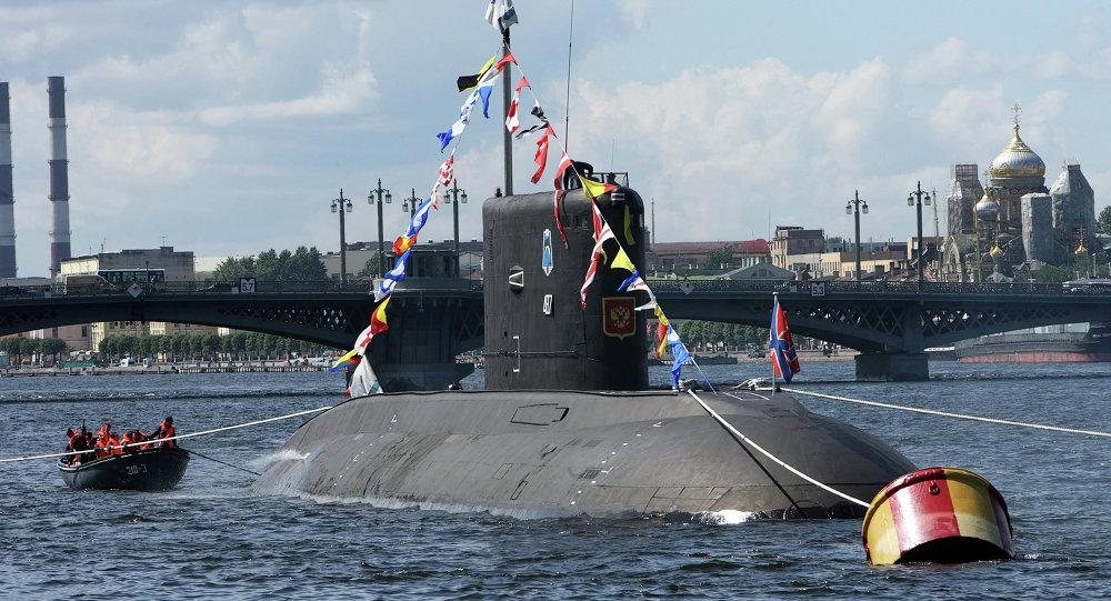 Rusya Donanması. denizaltı