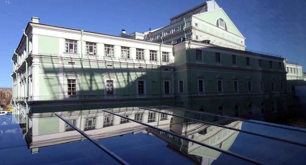 St. Petersburg'taki Mariinski Tiyatrosu