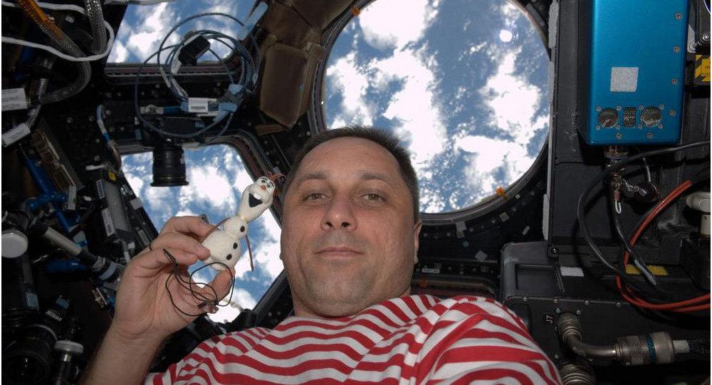 Rus kozmonot Anton Shkaplerov