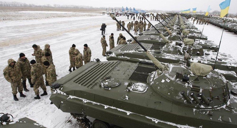 Ukrayna ordusuna yeni askeri araçlar