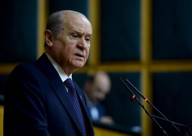 MHP Genel Bakanı Devlet Bahçeli