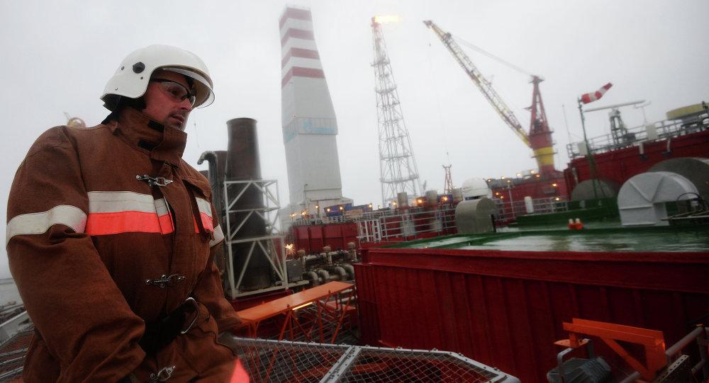 Gazprom'un petrol platformu