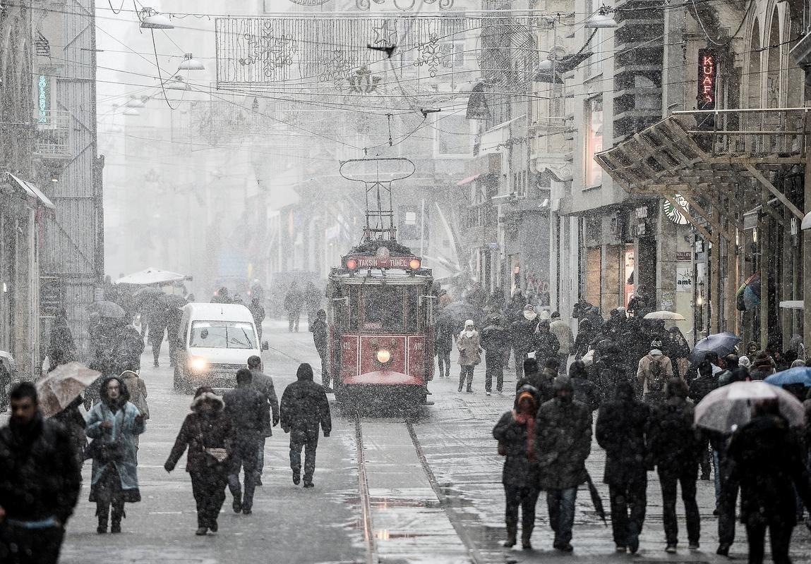 Türkiye'den kar fotoğrafları