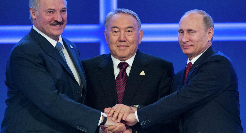 Avrasya Ekonomik Birliği liderleri