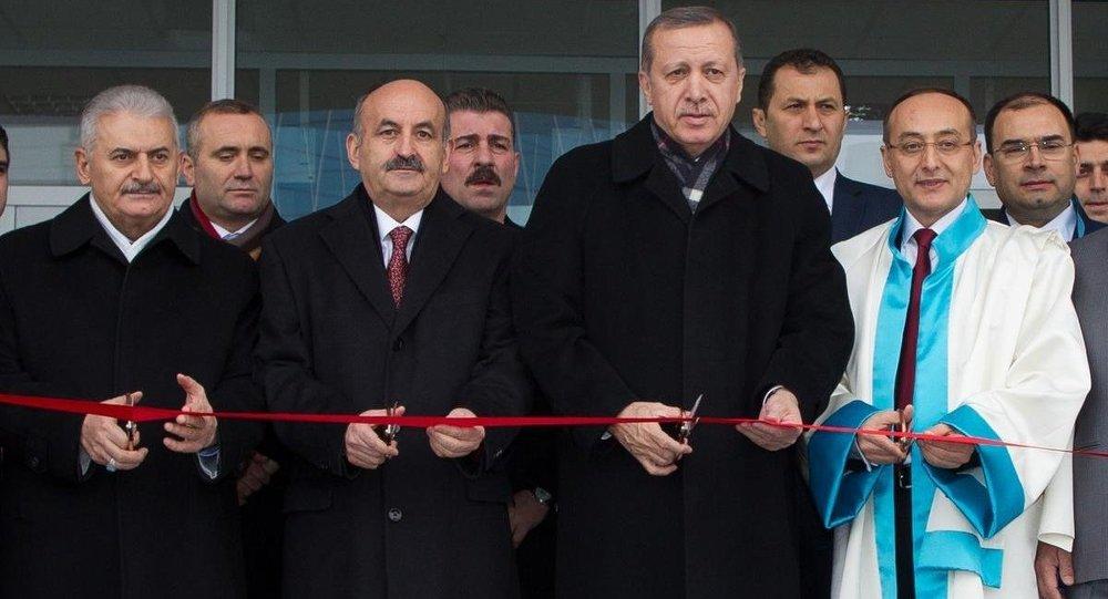 Türkiye Cumhurbaşkanı Erdoğan, Yıldırım Beyazıt Üniversitesi açılış ve temel atma töreninde