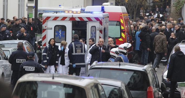 Fransa'da haftalık bir dergiye silahlı saldırı