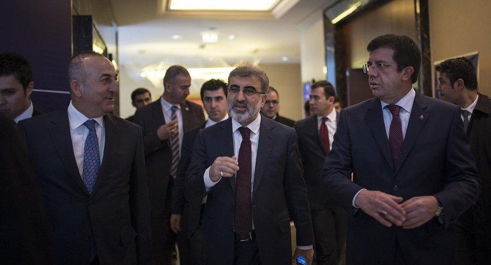 Türkiye Enerji ve Tabii Kaynaklar Bakanı Taner Yıldız