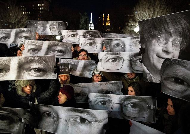 Charlie Hebdo protestosu