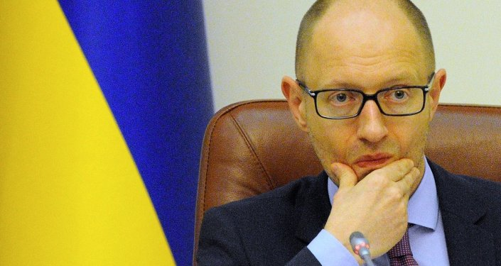 Ukrayna Başbakanı Arseniy Yatsenyuk