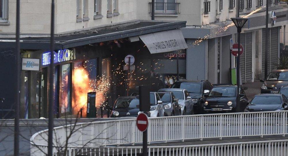 Paris'teki market baskını