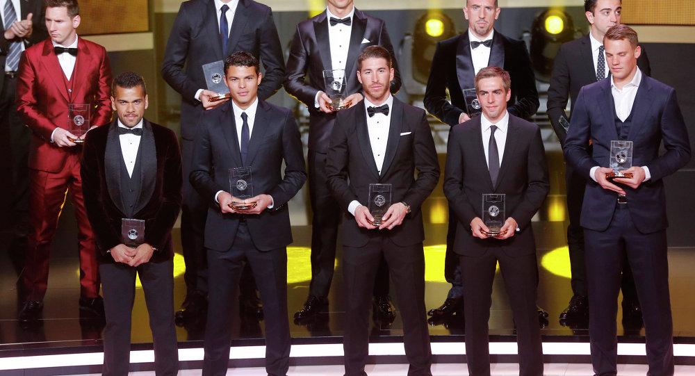 2013 Altın Top sahipleri
