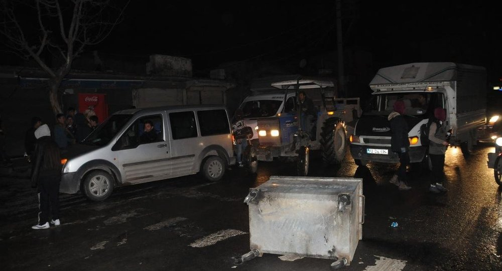 Cizre'de izinsiz gösteri