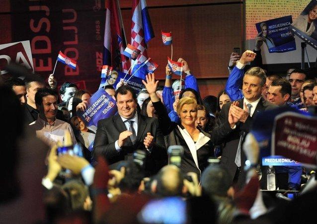 Hırvatistan'daki cumhurbaşkanı seçimi