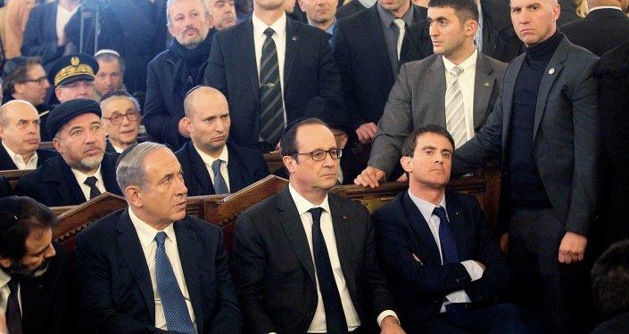 Hollande, Netanyahu'ya öfkesini dışa vurmaktan çekinmedi.