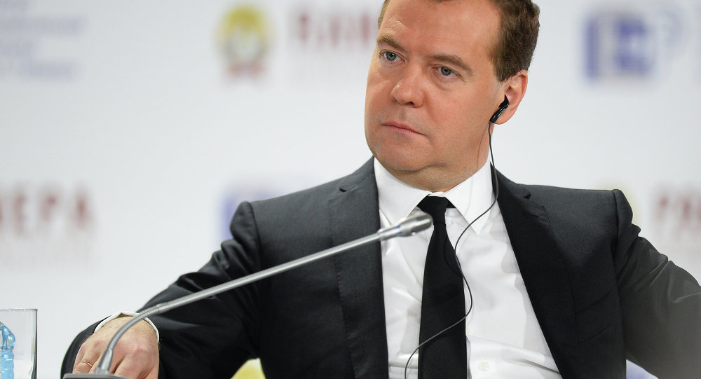 Prime Minister Dmitry Medvedev at Sixth Gaidar Forum