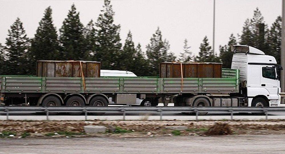 Adana'da durdurulan MİT'e ait tırlar