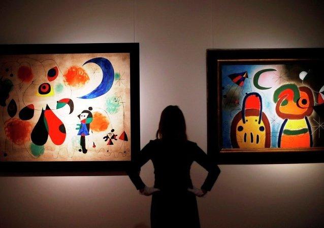 Joan Miró sergisi
