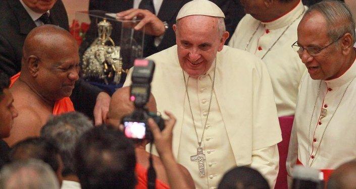 Katolik dünyasının ruhani lideri Papa Franciscus