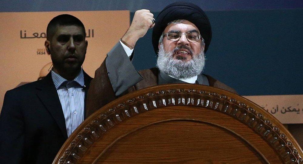 Hizbullah lideri Şeyh Hasan Nasrallah