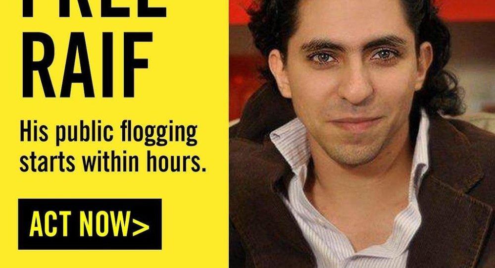 Suudi Arabistanlı blog yazarı Raif Bedevi