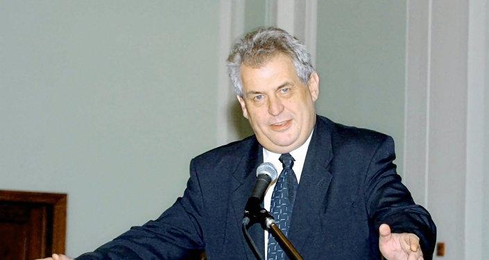 Çek Cumhuriyeti (Çekya) Başkanı Milos Zeman