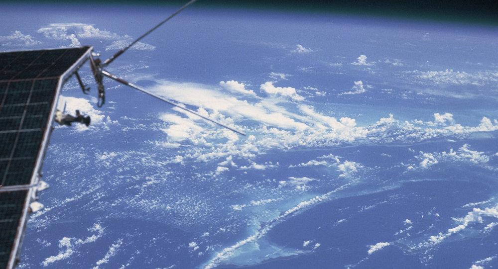 Uzaydan fotoğrafı  Uzay