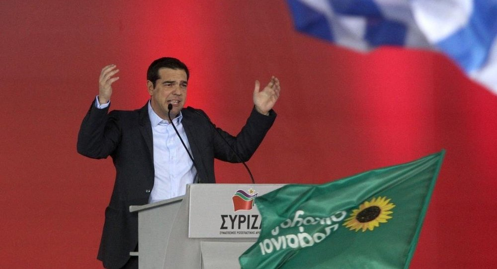 SYRIZA lideri Aleksis Çipras