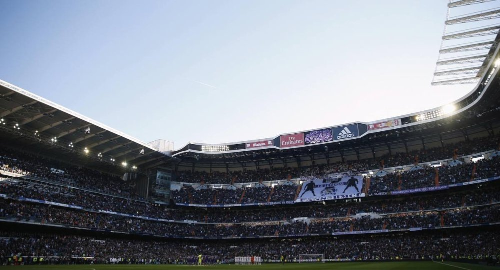 Santiago Bernabeu stadyumu
