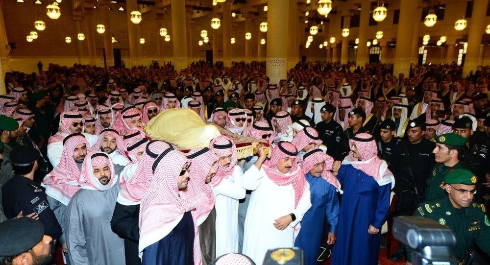 Suudi Arabistan Kralı Abdullah bin Abdulaziz'in cenazesi
