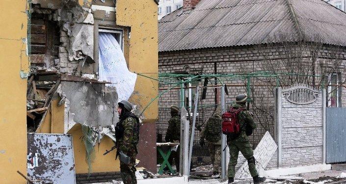 Mariupol'da saldırı