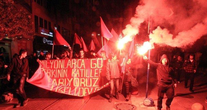Kadıköy'de Berkin Elvan yürüyüşü