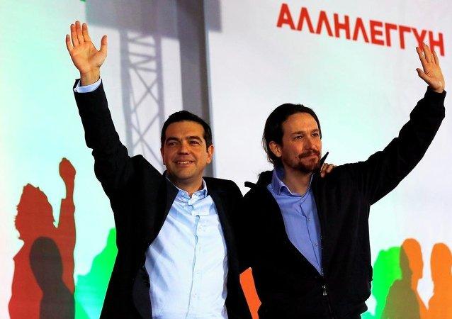 Podemos Partisi Genel Sekreteri Pablo Iglesias