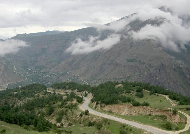 Dağıstan'ın Gunib bölgesi