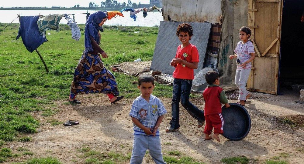 Lübnan'da Suriyeli mülteciler