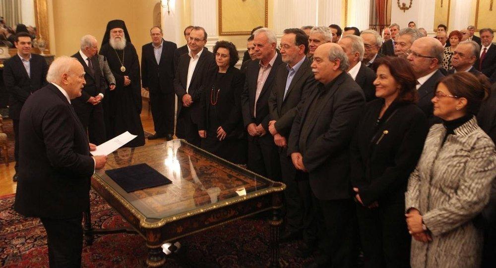 Yunanistan'da yeni hükümet kuruldu