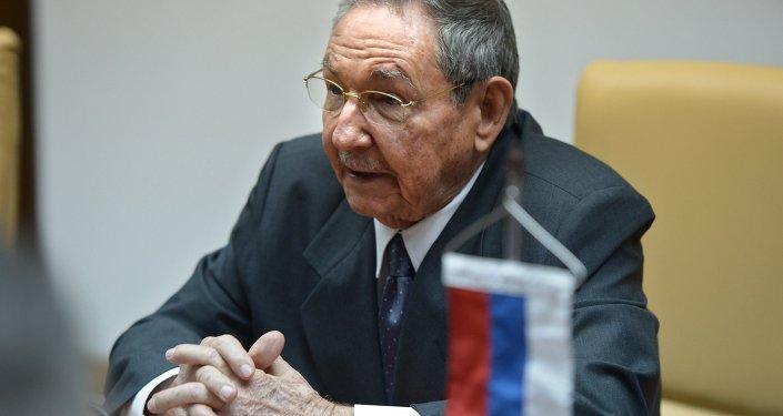 Küba Devlet Başkanı Raul Castro,