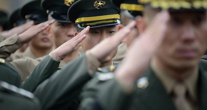 Güney Kore ordusu askerleri