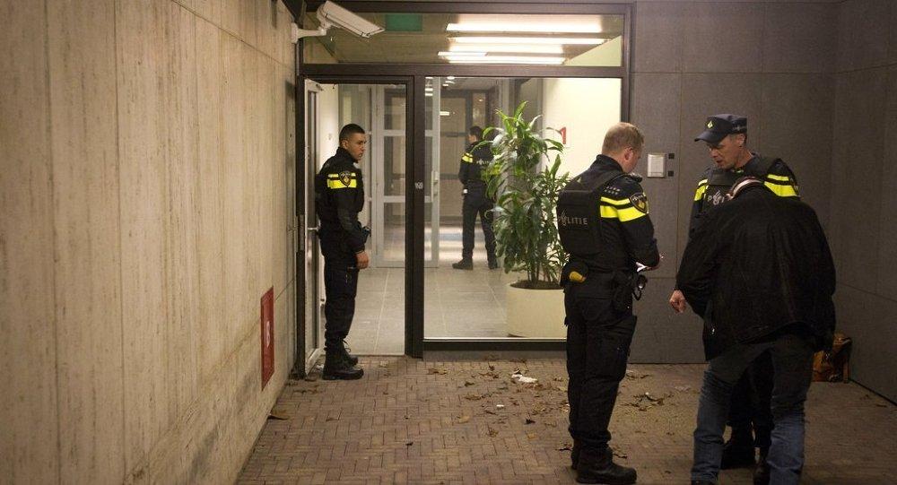 Hollanda NOS televizyonu binası