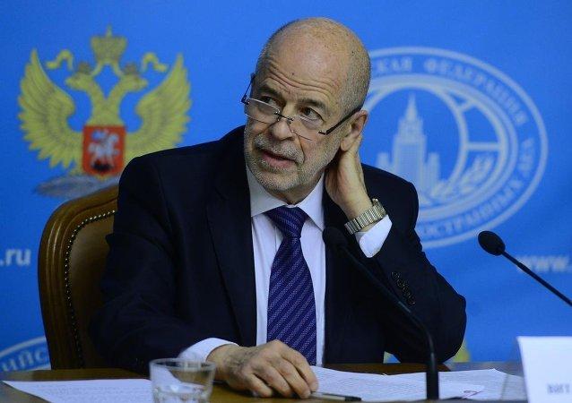 Suriye Krizi İstişare Toplantıları Koordinatörü Doğu Bilimleri Enstitüsü Başkanı Vitaly Naumkin