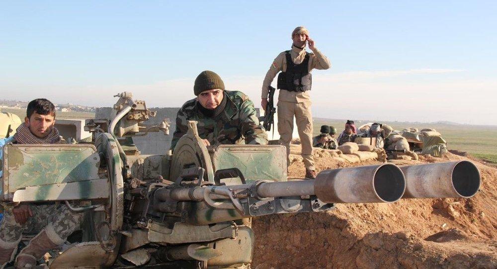 IŞİD, peşmerge çatışması