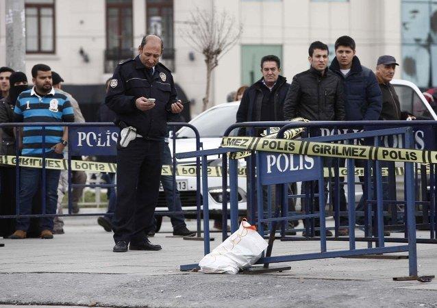Taksim Meydanı'nda saldırı